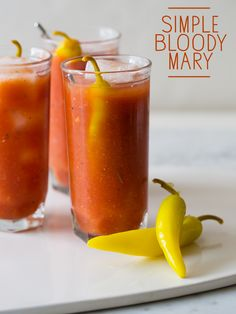 Simple Bloody Mary - spoon fork bacon