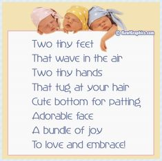 Two Tiny Feet Poem Graphic Babies Baby Poems Graphics Kewl 4