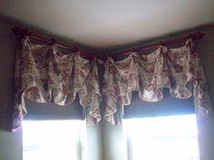 Karen Ann's Window Treatments: Corner Windows..........