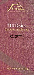 Forte 71% Dark Bar – Forte Chocolates
