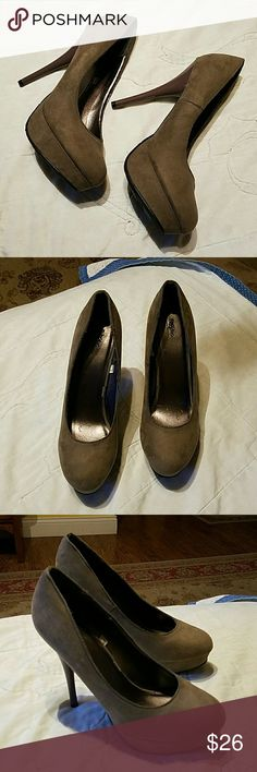 Mossimo platforms.  Size 8.5 Worn for 30 minutes inside. Mossimo Supply Co Shoes Platforms