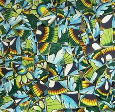 Mosaic TilesPeacock/ Blue /Green 74  Tiles by suzeezmosaics63, $13.50