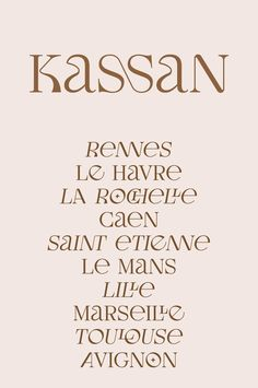 Le Havre, Poster S, Serif, Le Mans, Things I Want, Fonts, Typography, Branding, Display