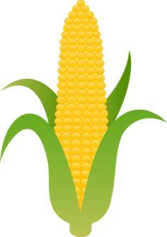 corn clip art vector clip art online royalty free public domain rh pinterest com  corn on the cob clip art free