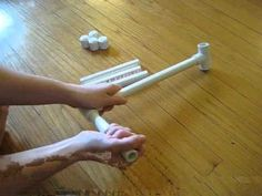 How to Make a Niddy Noddy for winding yarn