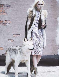 Modern Baroque Fashion : Vogue Netherlands 'Neo-Victorian'