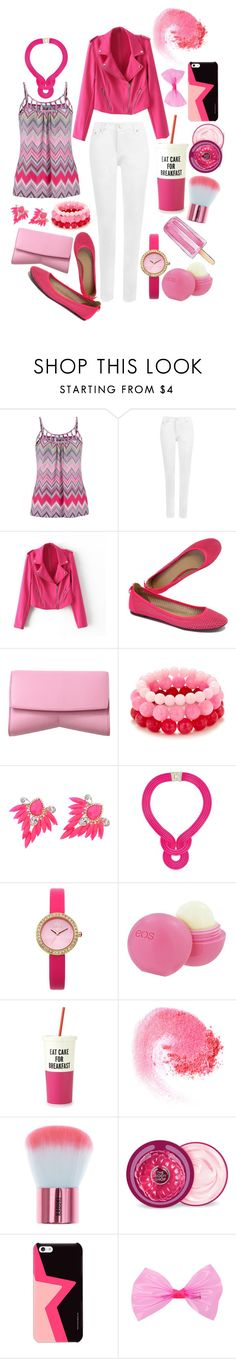 """""""Eat Cake For Breakfast"""" by gingy333 ❤ liked on Polyvore featuring maurices, WearAll, J.Crew, Narciso Rodriguez, Lara Bohinc, Oasis, Eos, Kate Spade, NARS Cosmetics and The Body Shop"""