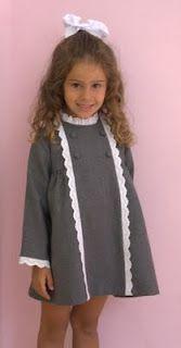 Vestido niña invierno