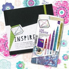 I Want This!      Look what I found on #blitsy! Derwent - Graphik Sketchbooks and Line Painter Sets #blitsybuys