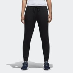 san francisco 9a3a4 9ae69 3-Stripes Joggers Black BK3861 Black Adidas Joggers, Adidas Pants, All  Black Adidas