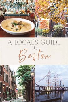 Boston Vacation, Vacation Spots, Boston In The Fall, Boston Travel Guide, Boston Public Garden, Freedom Trail, Like A Local, Oh The Places You'll Go, Places In Boston