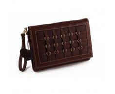 A chocolate Trivento style bag Women's Bags, Wallet, Chocolate, Chain, Stylish, Necklaces, Chocolates, Women's Handbags, Purses