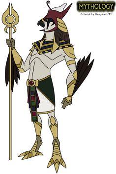 Mythology - Horus by Hewylewis on deviantART