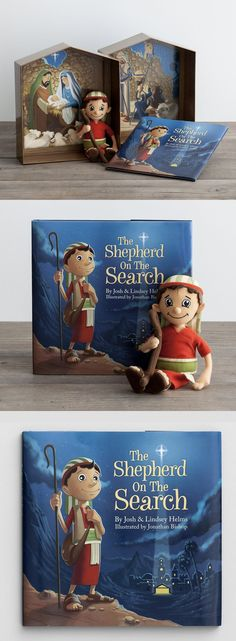 The Shepherd on the Search- a Christ-Centered alternative to the Elf on the Shelf. LOVE that this keeps the focus on the real reason for the season! (aff) #christcenteredchristmas #keepchristinchristmas