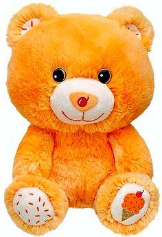 New Build a Bear Orange Sherbet Buddies Smallfrys BR Baskin Robbins Ice Cream Cone Teddy 7 in. Stuffed Plush Toy Animal In Stock Now at http://www.bonanza.com/booths/TweetToyShop
