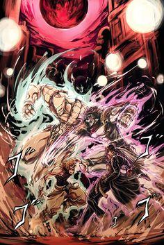 Jojo's Bizarre Adventure, Jotaro vs. Dio