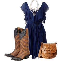 4th of July cowgirl outfit