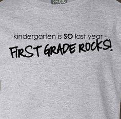1st day of school shirt