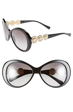 Love! Versace Round Sunglasses