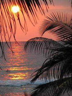 sunset```