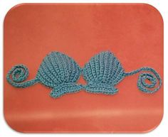 Shell Bikini US by TCDesignsUK | Crocheting Pattern - Looking for your next project? You're going to love Shell Bikini US by designer TCDesignsUK. - via @Craftsy