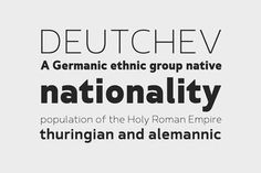 Font of the day: Betm