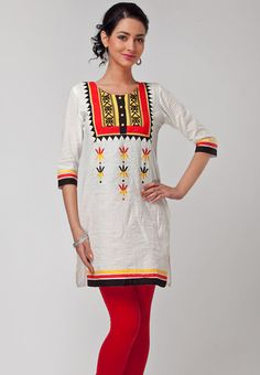 Searching for kurti designs? We have a collection of awesome dress designs to inspire you. Take a look! Indian Ethnic, Indian Style, Kurti Neck Designs, Kids Fashion, Womens Fashion, Indian Sarees, Indian Dresses, Indian Wear, Well Dressed