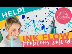 YouTube Calligraphy Lessons, Calligraphy Pens, Problem Solving, Flow, Ink, Youtube, Calligraphy Fountain Pens, India Ink, Youtubers