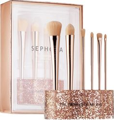 Any Sephora -- We love this store, don't we Gorgeous . SEPHORA COLLECTION Glitter Happy Brush Set at Sephora