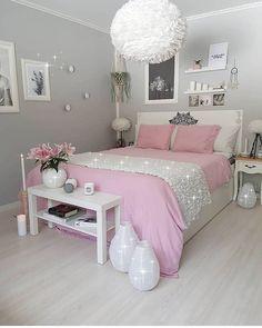 ✔ 52 inspiring teen girl bedroom decor ideas 30 in 2019 home Bedroom Decor For Teen Girls, Cute Bedroom Ideas, Cute Room Decor, Girl Bedroom Designs, Teen Room Decor, Teen Bedroom, Teenage Bedrooms, Ladies Bedroom, Master Bedroom