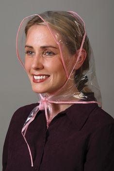 Raincoats For Women Beautiful Product Clear Raincoat, Vinyl Raincoat, Plastic Raincoat, Rain Bonnet, Rain Hat, Raincoat Jacket, Pinterest Hair, Raincoats For Women, Girly Girl