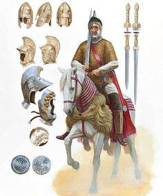Veteran Roman Cavalry circa 4th century AD.