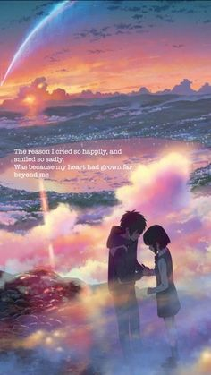 Kimi No Na Wa RADWIMPS - Nandemonaiya • like or reblog if you save • follow for more