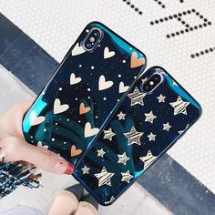 Heart & stars iphone case in 2019 blu ray cases чехлы Girly Phone Cases, Unique Iphone Cases, Ipad Air, Blu Ray Collection, Man Wallpaper, Wallet Tutorial, Clipart Black And White, Coque Iphone, Apple Products