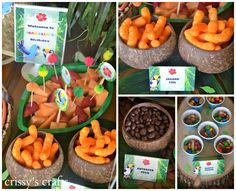 Crissy's Crafts: Rio 2 Inspired Party - It's on in the Amazon!