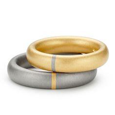 Niessing - Tecum - Wedding Rings - ORRO Contemporary Jewellery Glasgow - www.orro.co.uk