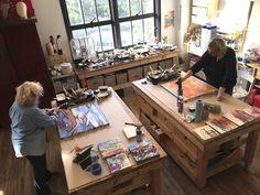 Encaustic Workshop of Alicia Tormey