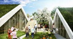BIG Architects - Vilhelmsro Primary School