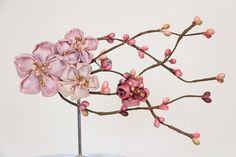 Cherry blossom hair accessories   Shades of by MyDivineBoutique, $63.00