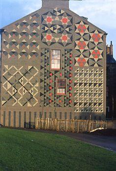 Garnethill Mural, Glasgow, 1977