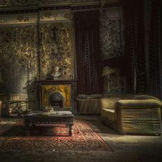 abandoned hotel somewhere in Belgium