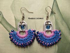 Free Crochet Doily Patterns, Tatting Patterns, Crochet Doilies, Macrame Jewelry, Diy Jewelry, Soda Tab Crafts, Wool Felt, Crochet Necklace, Knitting