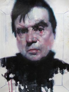 """Francis Bacon, 9""""x 12"""", oil on paper, 2011 by the akirA project, via Flickr"""