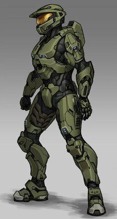 Halo Spartan Armor, Halo Armor, Halo Reach Armor, Master Chief And Cortana, Halo Master Chief, Halo Drawings, Halo Collection, Halo Game, Futuristic Armour