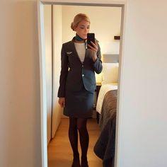 ✈ #flightattendant #cabincrew #cabincrewlife