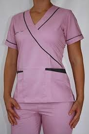 Resultado de imagen para uniforme de medico Healthcare Uniforms, Medical Uniforms, Spa Uniform, Scrubs Uniform, Lab Coats, Medical Scrubs, Nursing Tops, Professional Outfits, Maternity Dresses