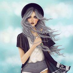 maryam KSARiyadh i'm 28y @girly_m رسمتها ع الاي...Instagram photo | Websta (Webstagram)