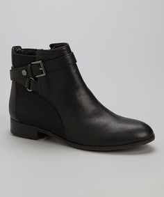 Take a look at this Black Karlie Ankle Boot on zulily today!