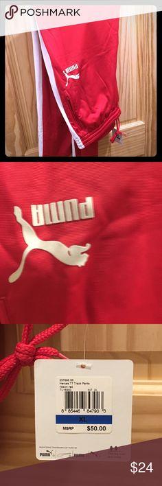 Puma track pants. Vintage. Xl New with tags. Puma Pants Sweatpants & Joggers