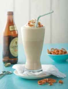 Food Truck Recipes, fabulous for fall, football & tailgating!! {Featured: Stout and Brown Sugar Ice Cream Shakes}
